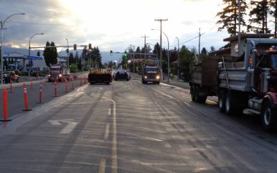 Town of Comox – Guthrie & Anderton Rd -Sidewalk and Storm Sewer Upgrade