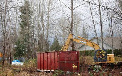 Cleanup underway at future supportive housing site