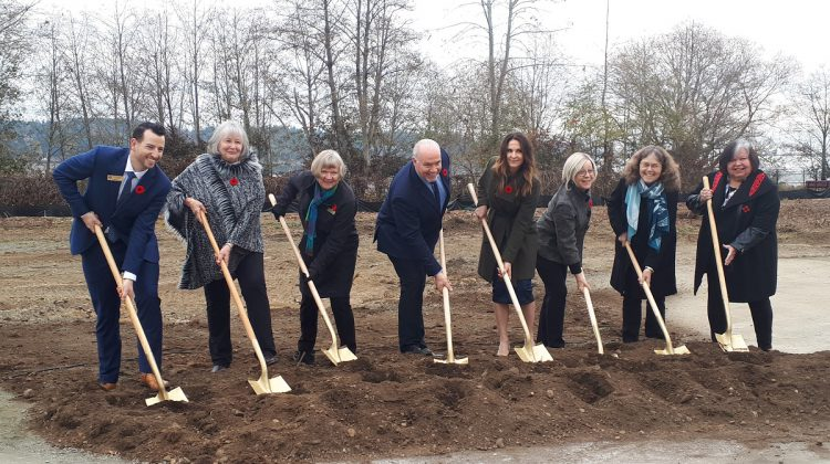 Premier breaks ground on Courtenay long-term care facility