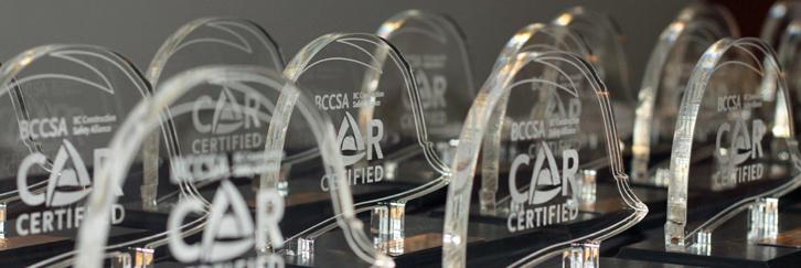 Edgett Excavating Secures BCCSA COR™ Certification