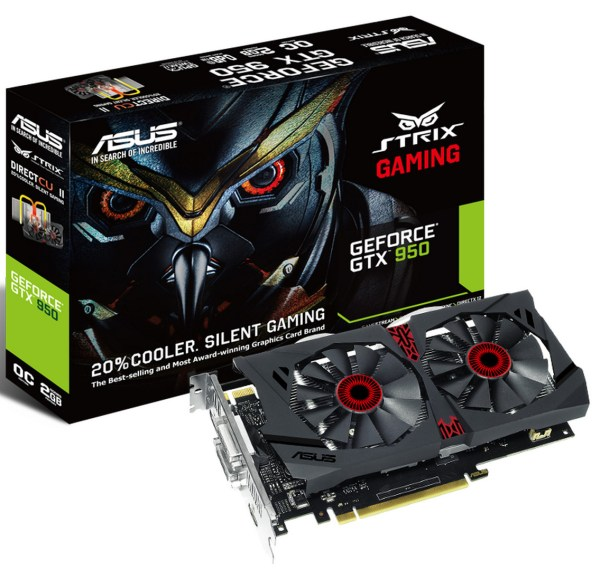 ASUS STRIX GTX 950 Edge Up