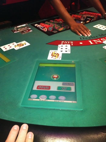 Planet hollywood craps tables