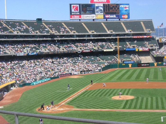 Oakland A's O.Co Colosium