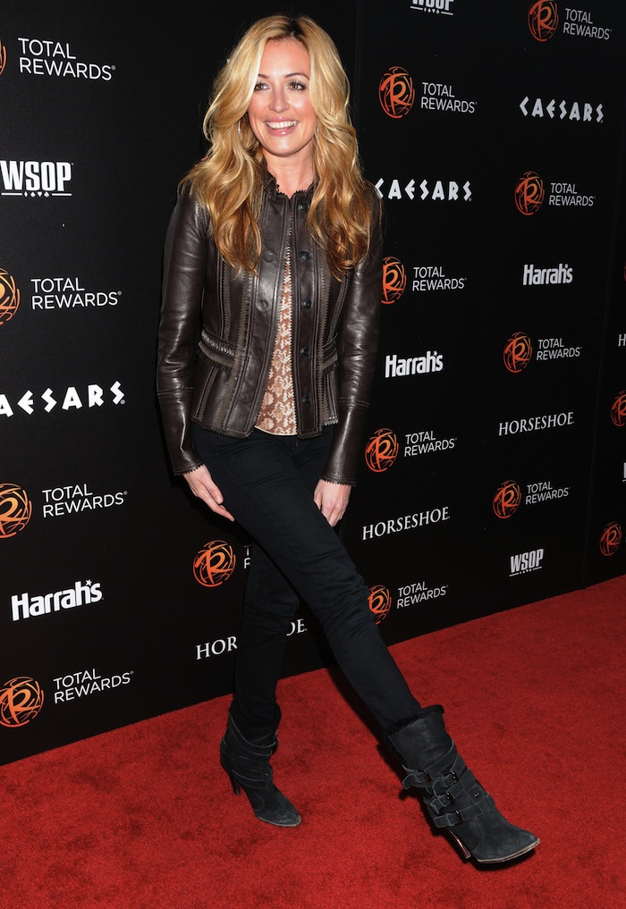Cat Deeley at Escape to Total Rewards