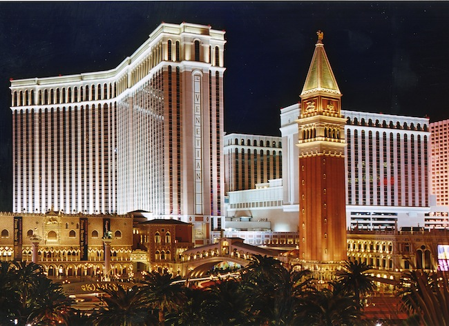 Las Vegas Sands Gambling Revenue