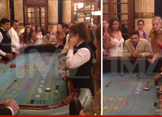 Ryan Seacrest Playing Craps In Monte Carlo