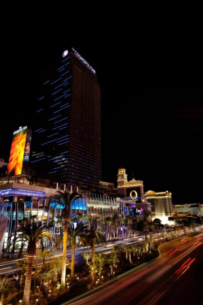 Cosmopolitan of Las Vegas At Night