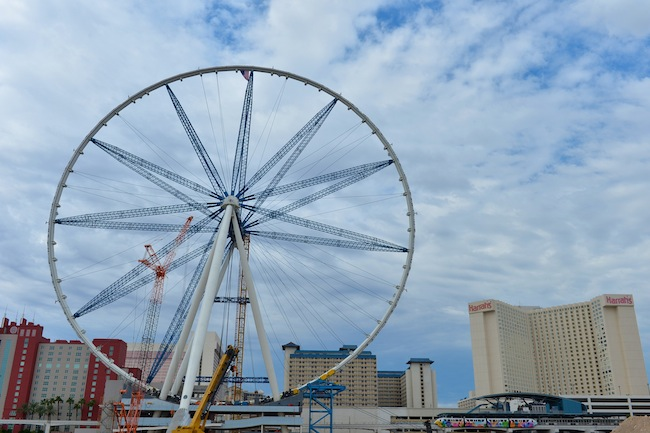 High Roller Ferris Wheel At The Linq Las Vegas