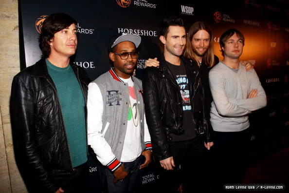 Maroon 5 Total Rewards Concert