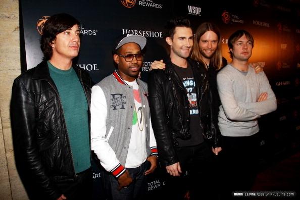 Maroon 5 Total Rewards Concert