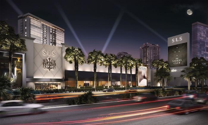 SLS Las Vegas Rendering
