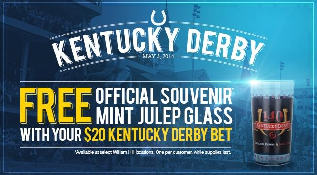 William Hill Kentucky Derby Promotion
