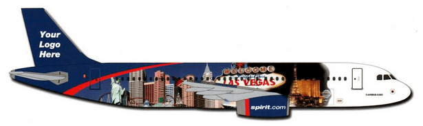 Las Vegas Spirit Airplane