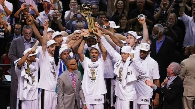 San Antonio Spurs NBA Champions