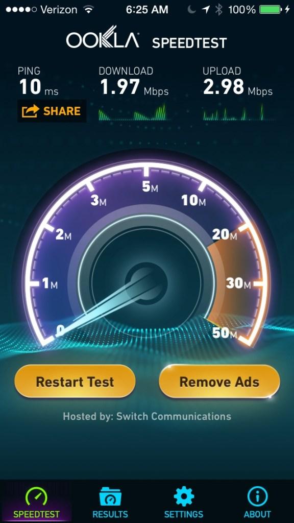 SLS Las Vegas Wifi