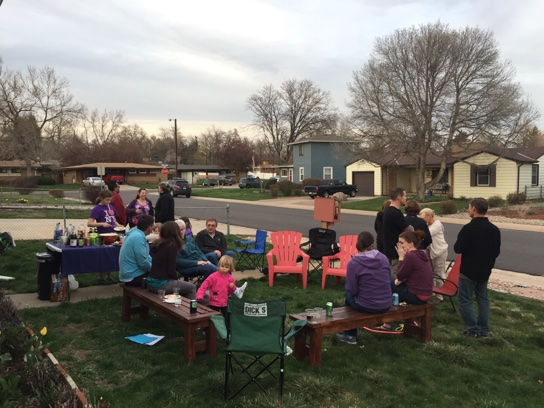 April Neighborhood Happy Hour in Rose Acres