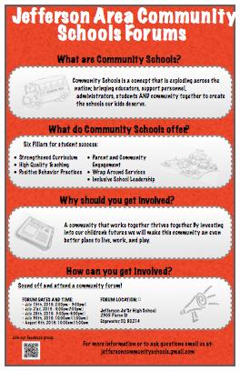 Community Schools Store Flyer - PDF