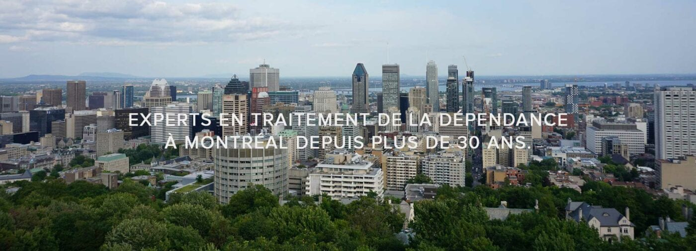 Experts en traitement de la dépendance à Montréal depuis plus de 30 ans.