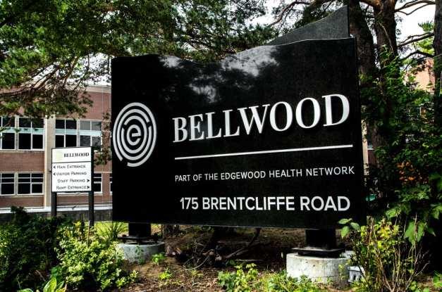 Bellwood Health Services Toronto Addiction Rehab Toronto Facility Sign