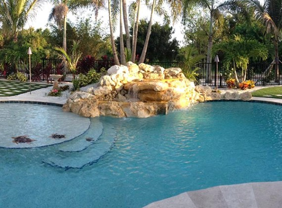 Residential Pool Hardscape