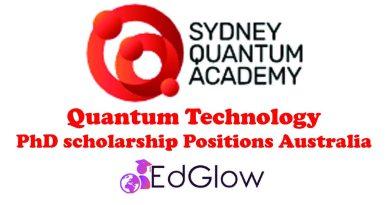 Quantum Technology PhD scholarship
