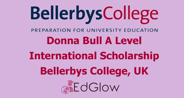Donna Bull A Level International Scholarship at Bellerbys College, UK