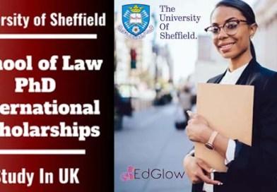 PhD International Awards in Law, UK