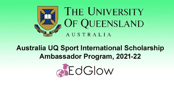 UQ Sport International Scholarship