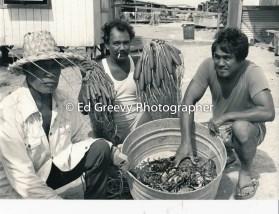 Sand Island Fisherman 4095-8 12-14-79