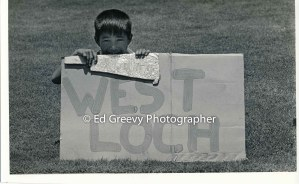 Young Ota Camp eviction protester. 2664-3-6A 7-3-73