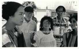 left-mililani-trask-steve-boggs-pua-burgess-and-dr-kekuni-blaisdell-at-anti-h-3-protest-demo-bishop-museum-1985-6060