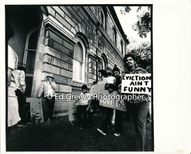 waiahole-waikane-residents-and-supporters-hoppy-ferreira-smoking-at-left-and-candido-manatad-holding-child-at-circuit-court-eviction-protest-2981-3-4-21-76