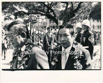 Governor George Arijoshi at 1974 Governor inagural. 2779