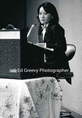 Ninotchka Rosca speaking at UH