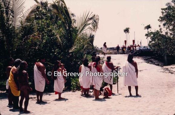 Pai 'Ohana land protest in Kailua-Kona