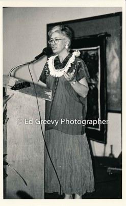 Peopleʻs Fund dinner speaker. 8030 9-30-95