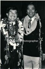 State House member Romy Cachola. 6075 1-88Roland Kotani, left, with s