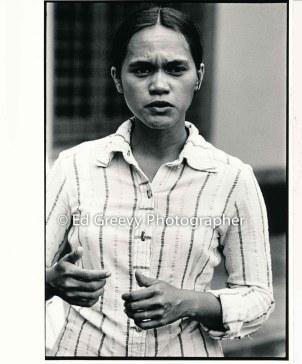 Terri Keko`olani at PKO 2nd. arraignment 3088-2-7A 8-15-77
