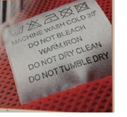 Nastri in poliestere e raso per etichette abbigliamento