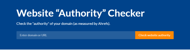 Domain authority or ranking is an important thing to keep track for any website.