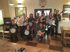 Banjo workshop at Cecil Sharp House