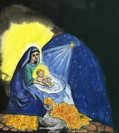Christ Child at Christmas Russia