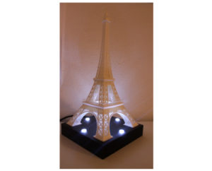 Tour Eiffel Lumineuse 3D Made in France