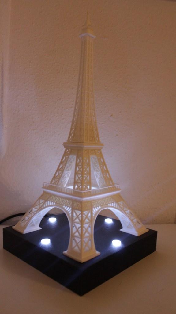 Tour Eiffel lumineuse Edi Elec