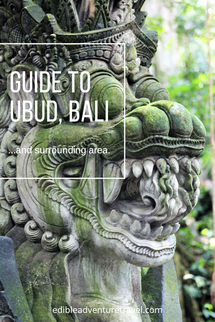 This guide will take you around Ubud and day trips of the surrounding area
