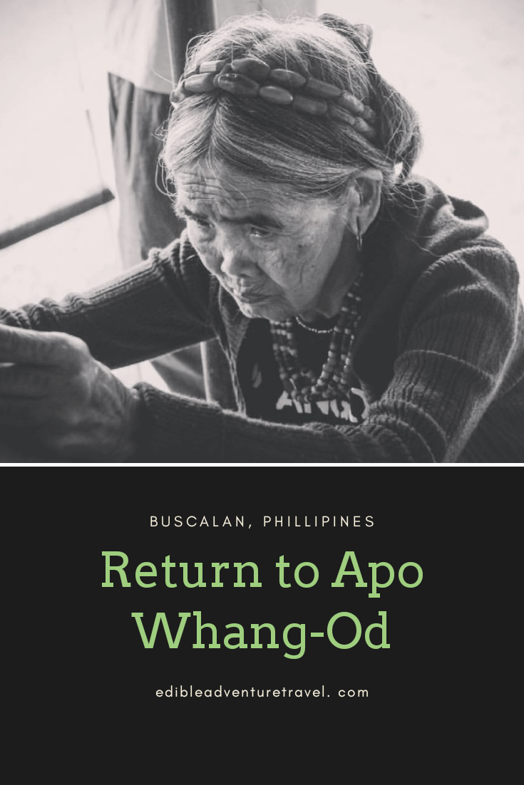 My second visit to Whang-Od and the changes that are taking place