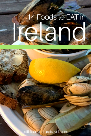 Here is a good list of food you must try in Ireland!! You won't be disappointed!