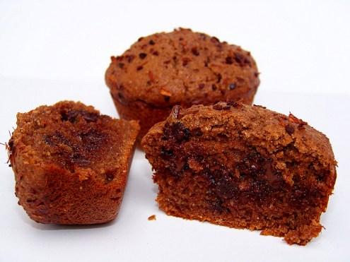 Chocolate Mesquite Muffins