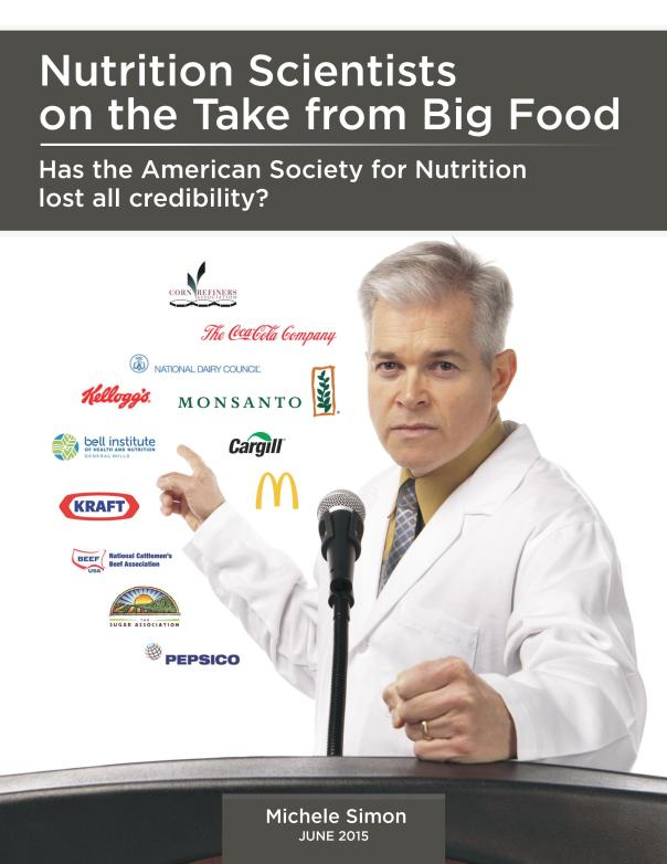 Has the American Society for Nutrition lost all credibility?