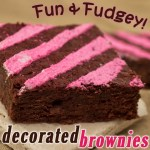 Decadent Decorated Brownies